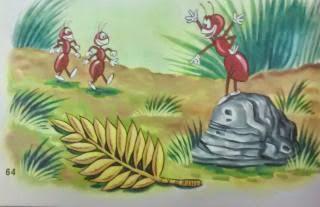 La hormiga y sus amigas