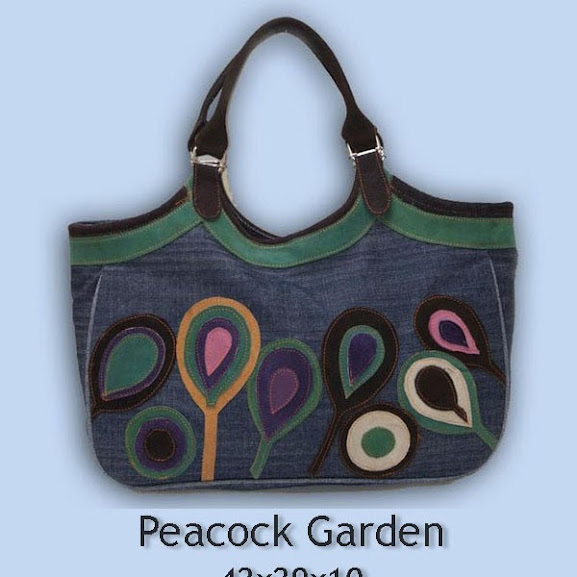 Tas Wanita Online Peacock Garden