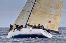 J/145 ACE - cruiser racer sailing ARC Rally in Atlantic