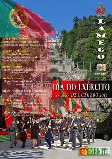 Programa - Comemorações do Dia do Exército - Lamego - 25 a 27 de Outubro