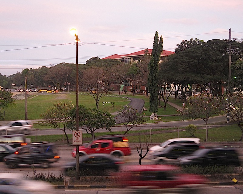 view of northern side of Ateneo de Manila University from Regis Center