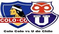 Colo Colo U Chile vivo online clasico 17 junio CDF