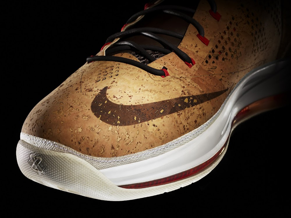 5c1be593506e ... Nike Honors The Champ with Nike LeBron X CORK Limited Edition ...