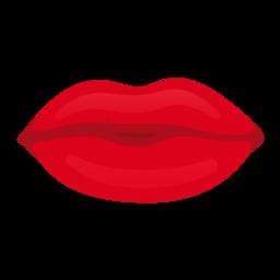 Liefde kus rode lippen afbeelding