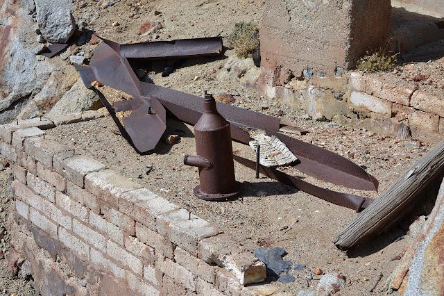 iron left to rust