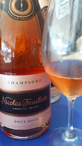 Feast 2014, Tillamook Brunch Village participant Champagne Nicolas Feuillatte, (Chouilly, France) helped me finish with happy bubbles thanks to their Brut Rose