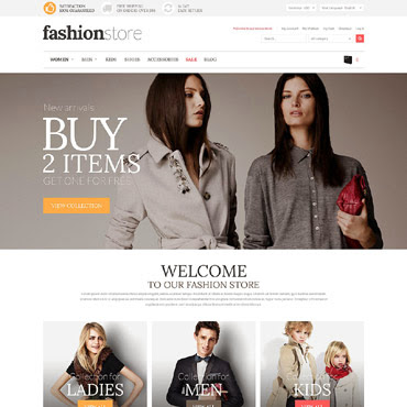 Fashion Store Magento #52111