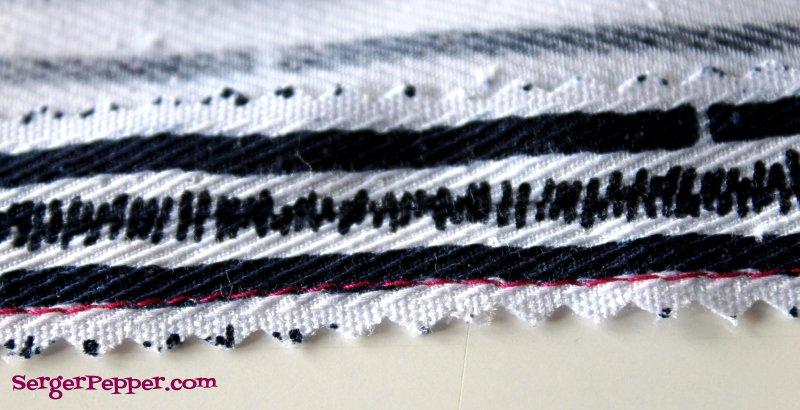 how to keep crochet seam straight