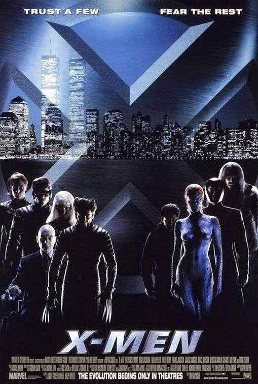 Poster Of X-Men (2000) Full Movie Hindi Dubbed Free Download Watch Online At Alldownloads4u.Com