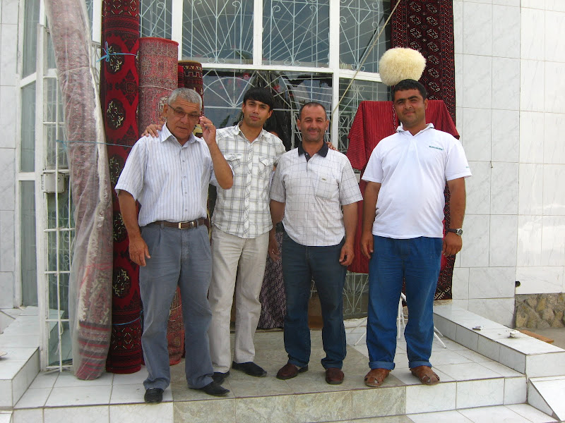 Туркмены и туркменки