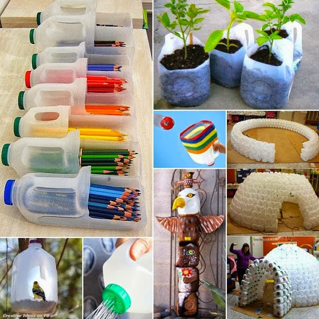 DIY Home Decoration: How to Recycle Plastic Bottles ...