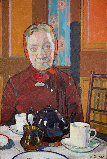 Harold Gilman - Mrs Mounter