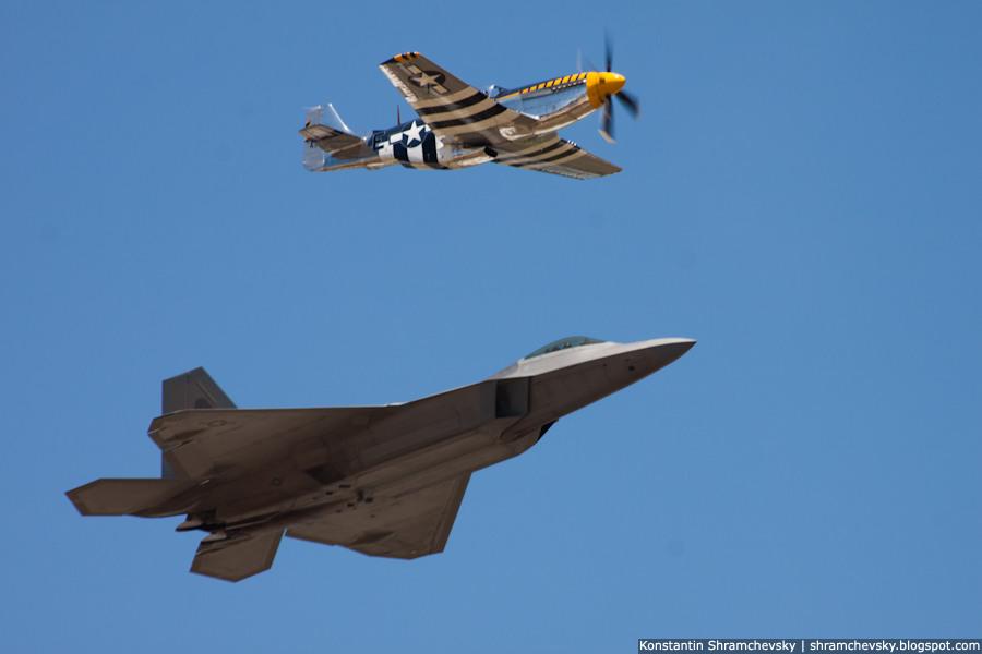 USA Air Force F-22 Raptor 5th Generation Fighter Andrews AFB США ВВС Ф-22 Раптор Истребитель пятого 5 поколения