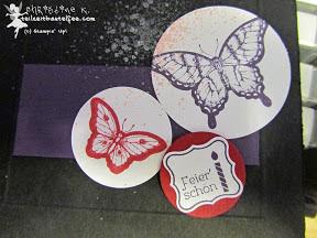 stampin up papillon potpourri alle meine minis