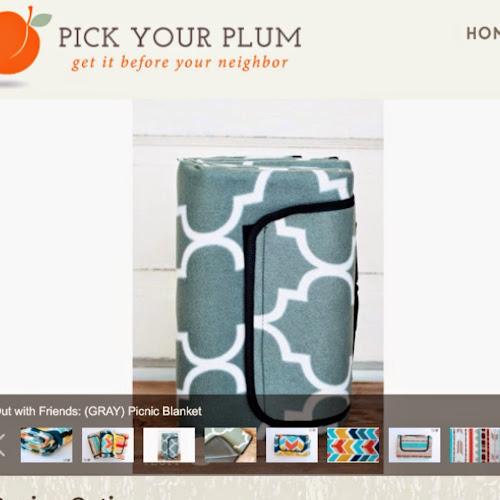 Pick your plum blanket