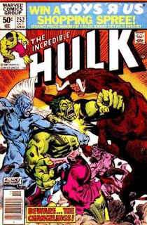 The Incredible Hulk #252 - Comic of the Day