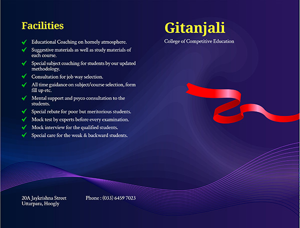 competitive education brochure