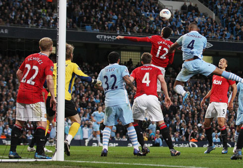 Vincent Kompany, Manchester City - Manchester United