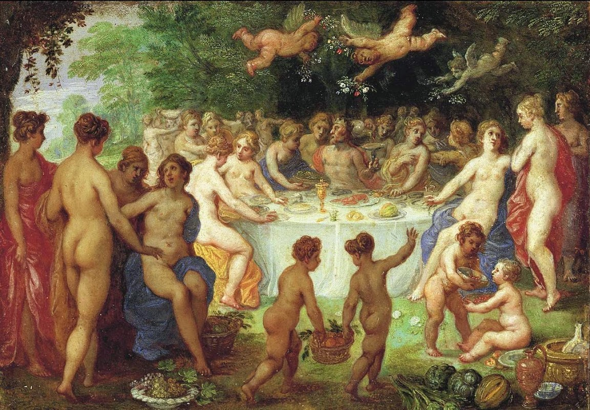 Hendrick van Balen - Feast of the Gods