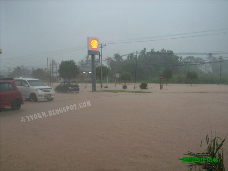 pekan goshen kota marudu kena banjir