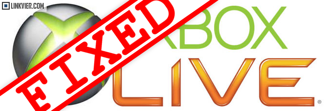 Xbox Live fixed, it's back up