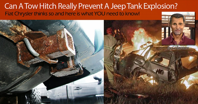 Chrysler Says Adding A Tow Hitch Will Keep The Rear Mounted Fuel Tanks In Jeep  Grand