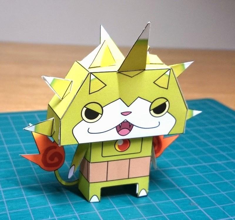 Yokai Watch Togenyan Papercraft