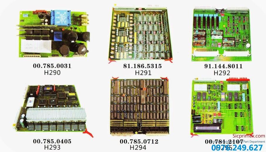 Bảng máy máy in Hải Đức Bảo chính hãng giá tốt H290-295