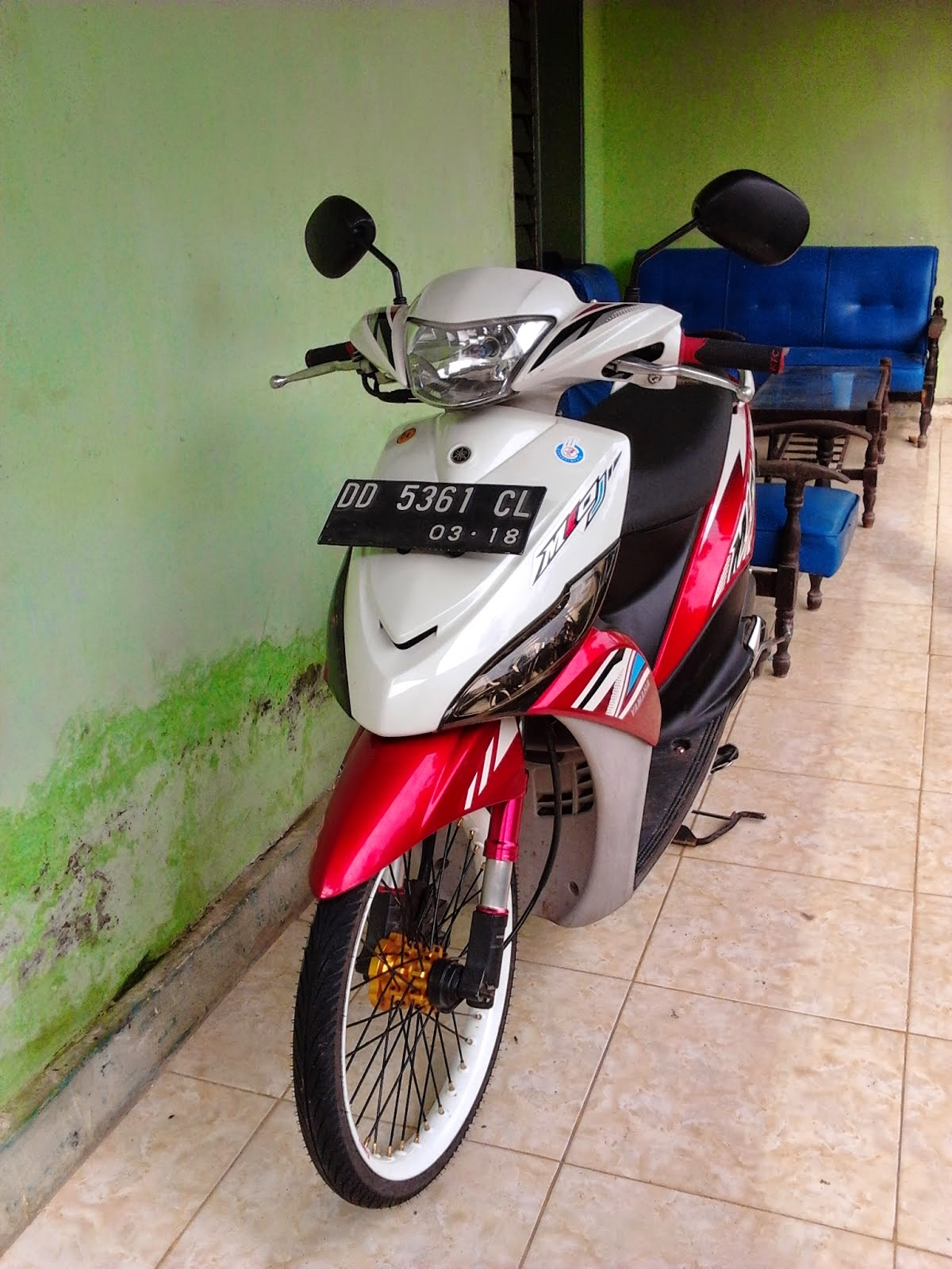 Mio J Modifikasi Simple