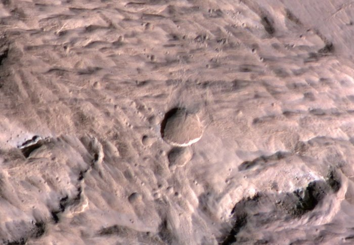 Astronomy: Evidence of Martian life could be hard to find in some meteorite blast sites
