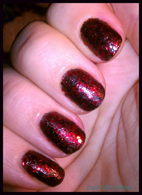 deborah lippmann red ruby slippers swatches and review