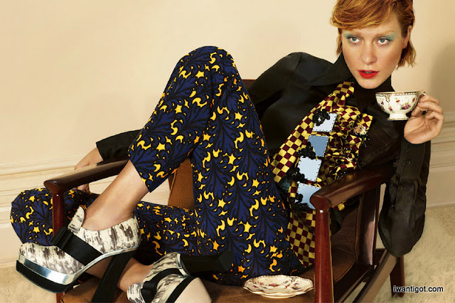 Miu Miu Fall Winter 2012 - 2013 Ad Campaign