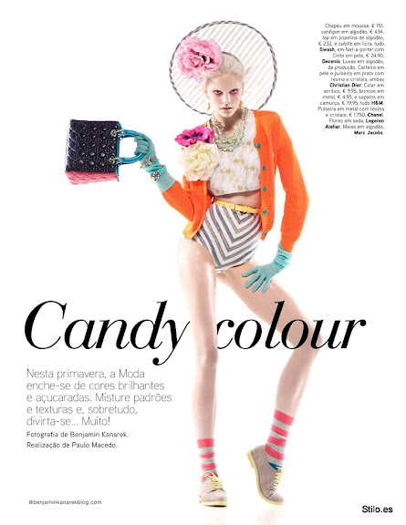 ¡Prints!: Candy Colour (Vogue Portugal)