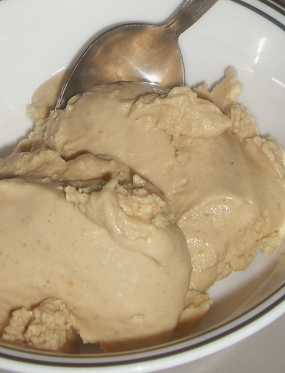 "Banana Peanut Butter ""Ice Cream"""