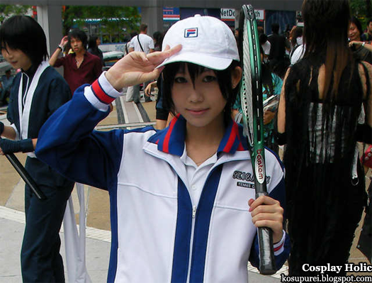 the prince of tennis cosplay - echizen ryoma 2