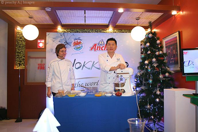 HOKKAIDO CAKE from The French Baker | www.thepeachkitchen.com