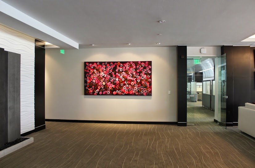 Victor Angelo Public Art Corporate Art Collection Lobby