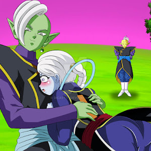 Who is Zamasu Black Goku SSGSS?
