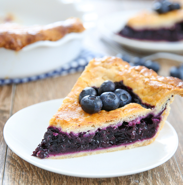 Cook's Illustrated's Best Blueberry Pie
