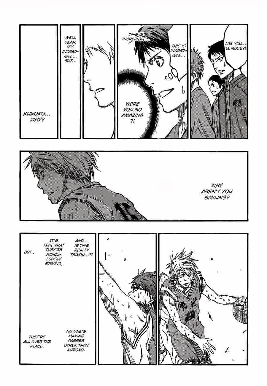 Kuroko no Basket Manga Chapter 225 - Image 16