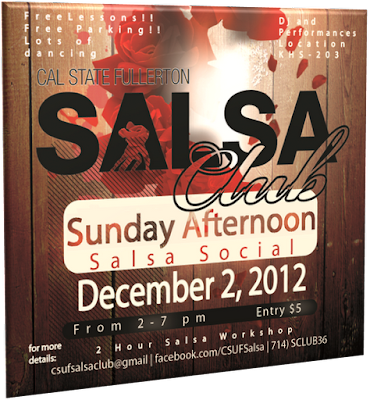 CSUF Sunday Afternoon Salsa/Mambo Social