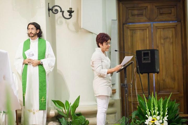 I saluti del Consiglio parrocchiale (foto Davide Dall'Acqua)