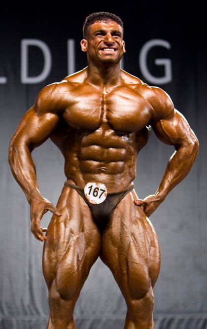 Competitive Bodybuilders, Sexy in Posing Trunks - Part IV