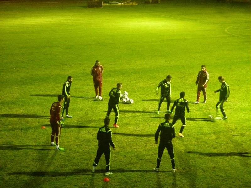 Numancia de Ares. Selección Española Sub-21 nun adestramneto (10/11/2014)