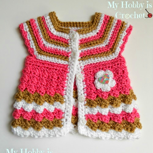 Free Crochet Patterns For Childrens Sweaters : My Hobby Is Crochet: MY FREE CROCHET PATTERNS & TUTORIALS