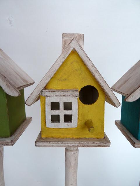 BH09 Shabby Birdhouses 22