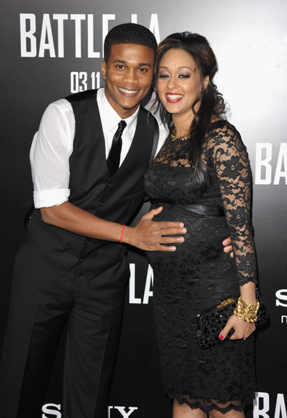 tia mowry and cory hardrict. Cory Hatrick and Tia Mowry-