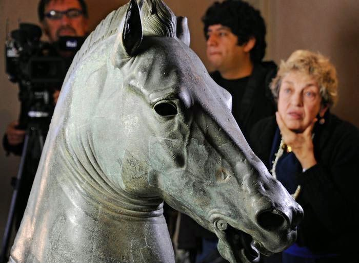 Italy: Medici Greek bronze undergoes restoration