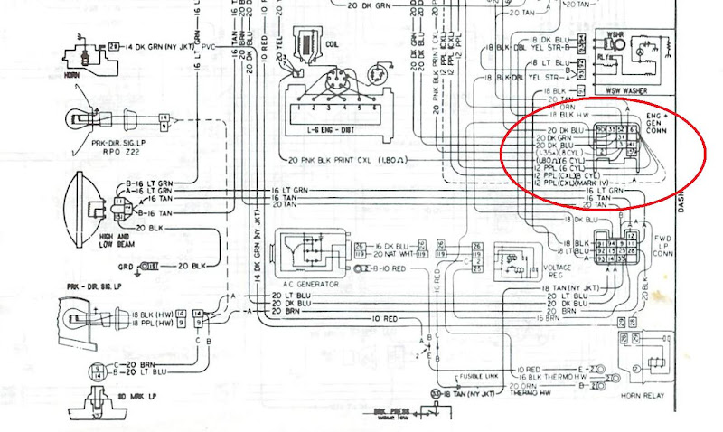 69 Firebird Dash Wiring Diagram