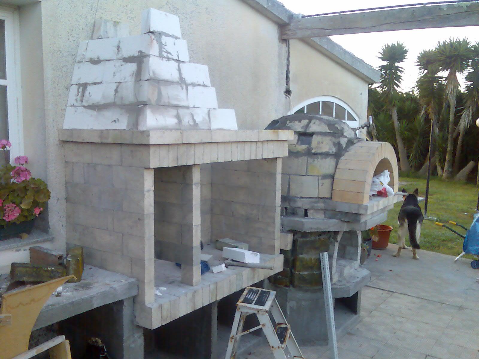 El sexagenario horno de le a y barbacoa - Estructuras de chimeneas ...